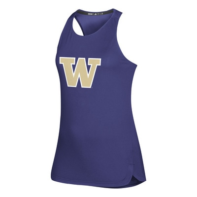 Washington Huskies Adidas Women's Game Mode Training Tank