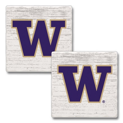 Washington Huskies 2pk Square Coasters