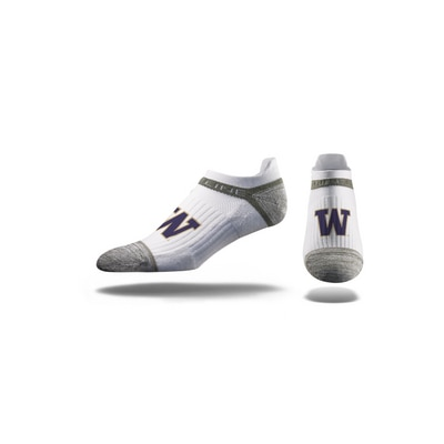 Washington Huskies Strideline Low Cut Socks