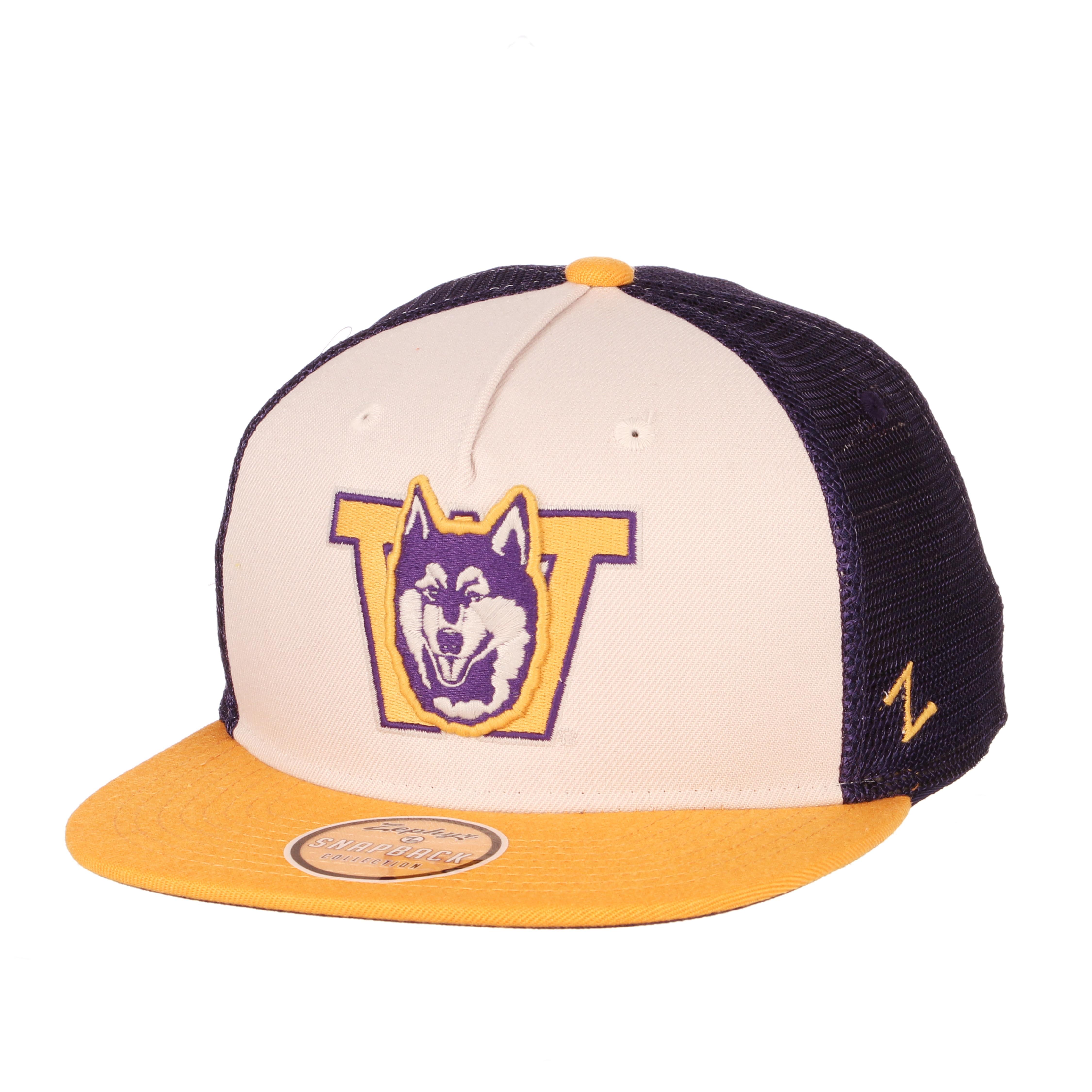 Washington Huskies Zephyr Paradigm Adjustable Cap Hat