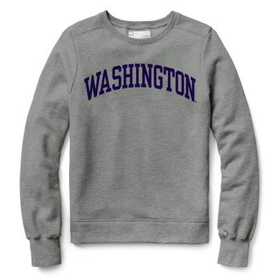 Washington Huskies  Women's Classic Pullover Sweatshirt