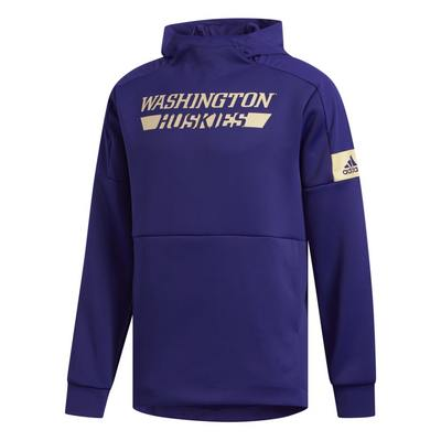 Washington Huskies Adidas Men's Game Mode Pull Over