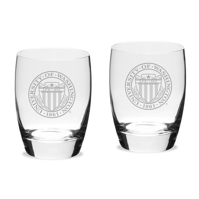 Washington Huskies Water Gl 2-Pack