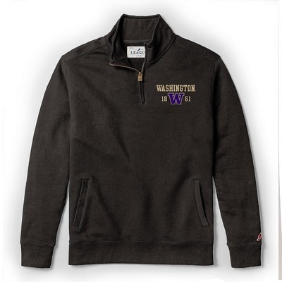 Washington Huskies League Stadium Quarterzip Pullover