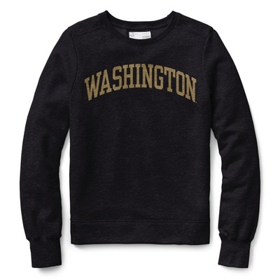 Washington Huskies Womens Classic Crew Neck Sweatshirt