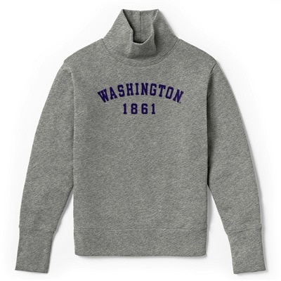 Washington Huskies Womens Academy Turtleneck