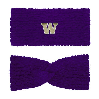 Washington Huskies LogoFit Adaline Chunky Twist Earband