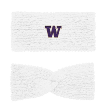 Washington Huskies LogoFit Women's Adaline Chunky Knit Twist Winter Earband