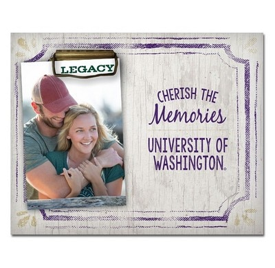 Washington Huskies Frame Clip