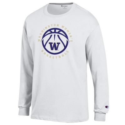 Washington Huskies Champion Jersey Long Sleeve T-Shirt