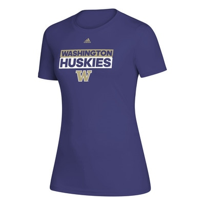 Washington Huskies Adidas Women's Creator T Shirt