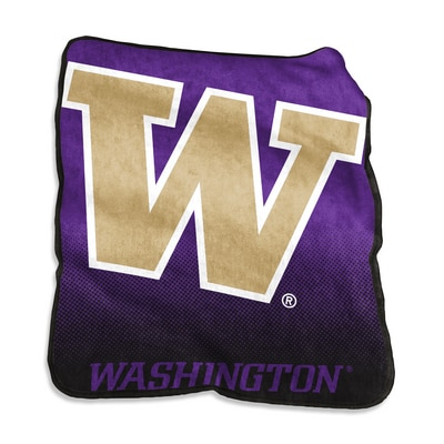 Washington Huskies Raschel Throw