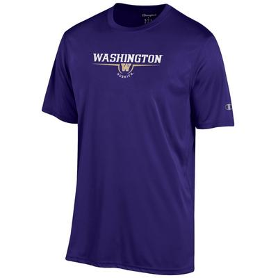 Washington Huskies Champion Athletic Short Sleeve T Shirt