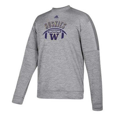 Washington Huskies Adidas Men's Team Issue Crew