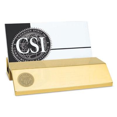 Washington Huskies CSI Business Cardholder