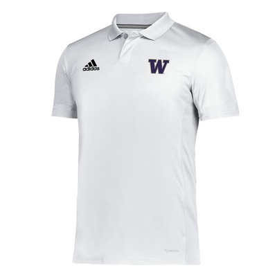 Washington Huskies Adidas Men's Team 19 Polo