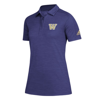 Washington Huskies Adidas Women's Game Mode Polo