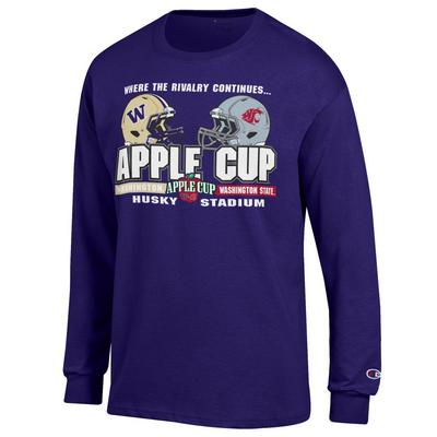 Washington Huskies Champion Jersey Long Sleeve T-Shirt