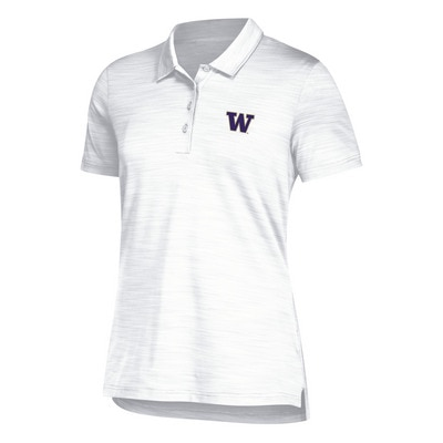 Washington Huskies Adidas Women's Ultimate Polo