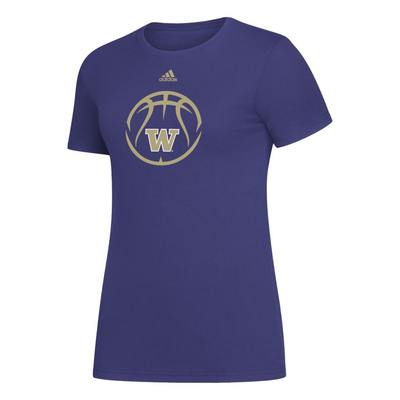 Washington Huskies Womens Amplifier T Shirt