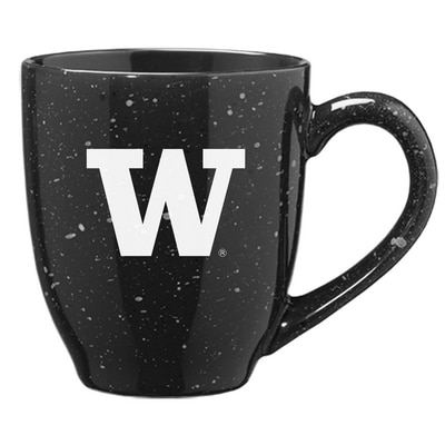 Washington Huskies 16oz Speckled Ceramic Coffee Mug