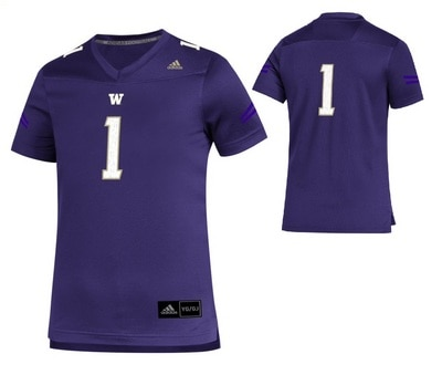 Washington Huskies Youth Replica Jersey