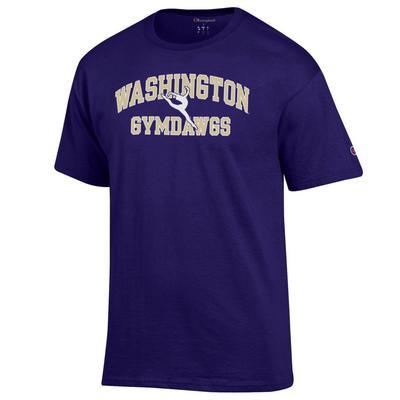 Washington Huskies Champion 100% Cotton T-Shirt