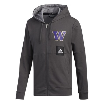 Washington Huskies Adidas Men's Swingman NCAA Warmup Top
