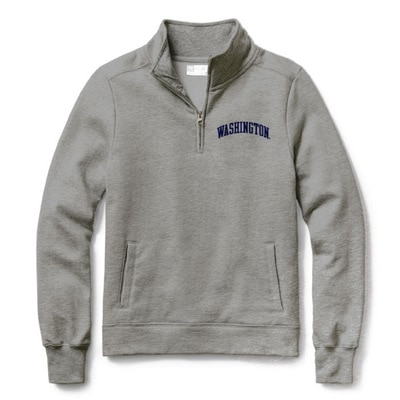 Washington Huskies Red Shirt Classic Quarter Zip
