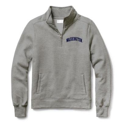 Washington Huskies Women's Classic Quarter Zip Sweatshirt