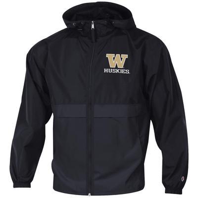 Washington Huskies Champion Full-Zip Packable Jacket
