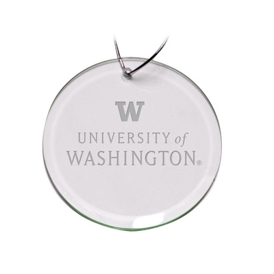 Washington Huskies Round Ornament