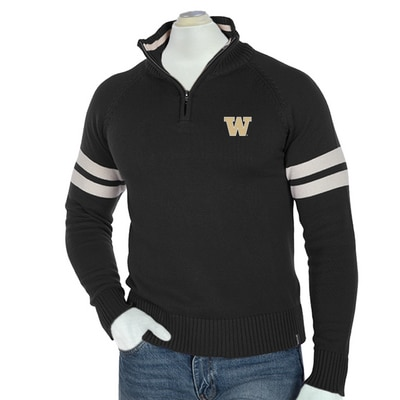 Washington Huskies Half Back Sweater_Direct_Emb_Small