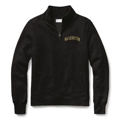 Washington Huskies Womens Classic Quarter Zip
