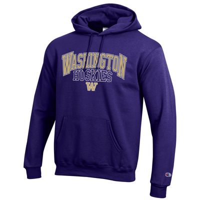 Washington Huskies Champion Powerblend  Pullover Hoodie