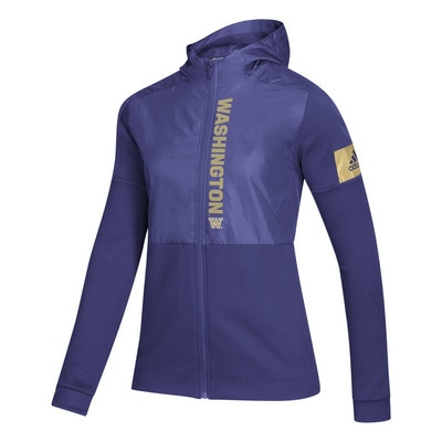 Washington Huskies Womens Game Mode Full Zip Jacket