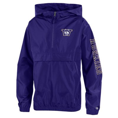 Washington Huskies Youth Packable Jacket