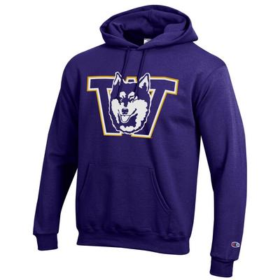 Washington Huskies Champion ECO Powerblend Hoodie Sweatshirt