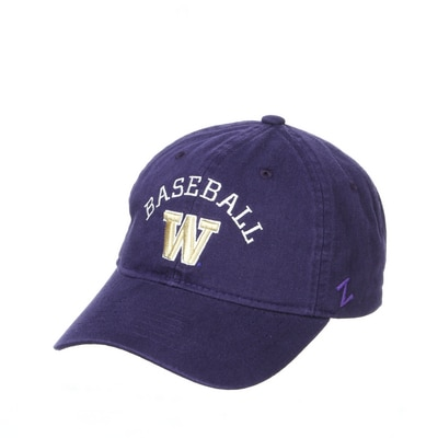 Washington Huskies Zephyr Name Drop Adjustable Cap Hat