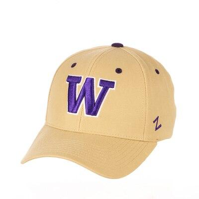 Washington Huskies Zephyr Competitor Structured Curved Bill Adjustable Cap Hat