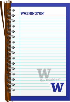 Washington Huskies 2pk Memo Pad