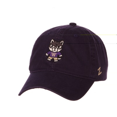 Washington Huskies Zephyr Shibuya Washed Unstructured Adjustable Cap Hat