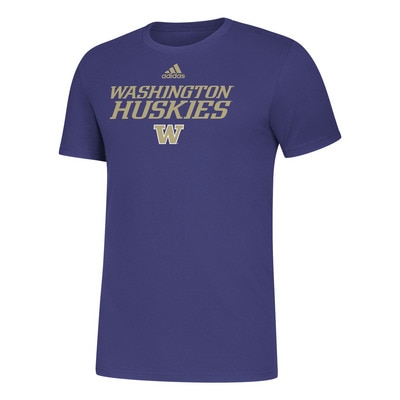 Washington Huskies Adidas Men's Amplifier T Shirt