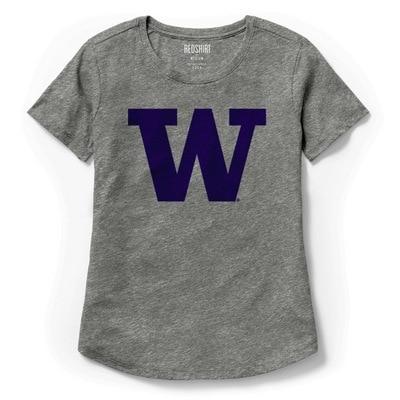 Washington Huskies  Scallop T-Shirt