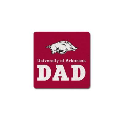 "University of Arkansas 4"" x 4"" Ceramic Coaster"