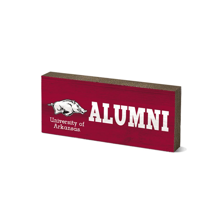 "University of Arkansas 6"" Wood Tabletop Sign"