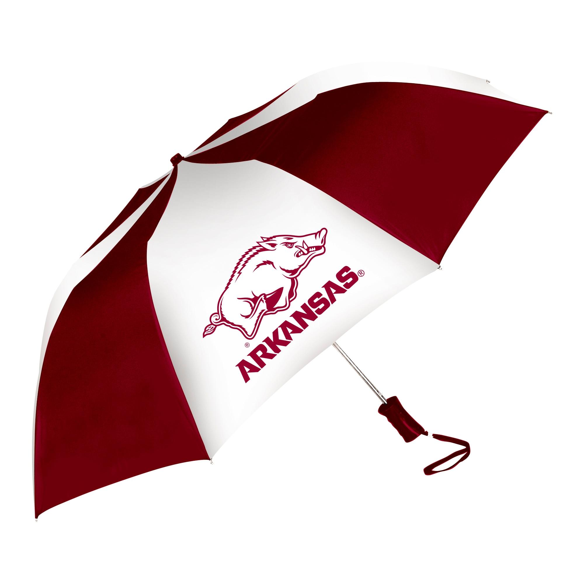 University of Arkansas The Sport 48 inch Auto Open Folding Umbrella