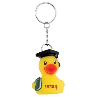 University of Arkansas Grad Duck Key Tag
