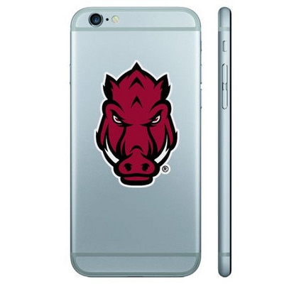 University of Arkansas Color Shock Removable Decal