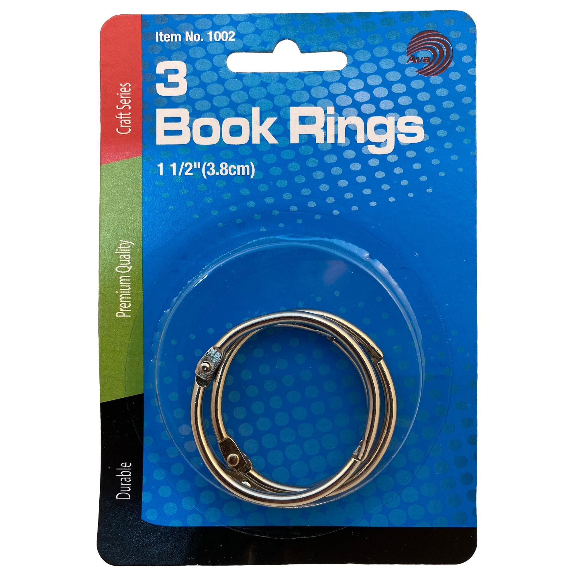 Book RingsFor Loose Leaf